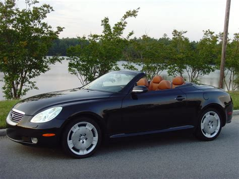 lexus convertible sc430 sc 2002 lexus sc430 one owner black convertible nav