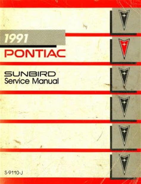 service and repair manuals 1994 pontiac sunbird security system service manual how to download repair manuals 1991 pontiac sunbird interior lighting 1994