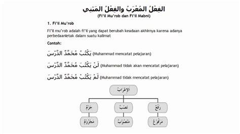Sepatu Safety Nema materi 32 fi il mu rob dan fi il mabni belajar bahasa arab nahwu shorof brain aldilas
