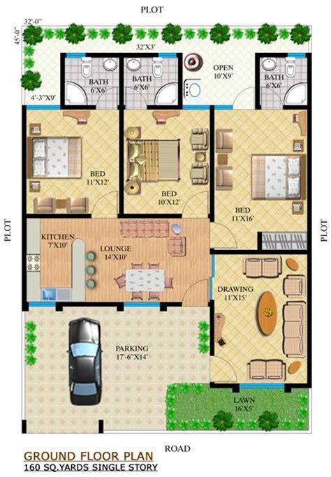 Pakistani House Floor Plans noman dream villas noman builders karachi pakistan