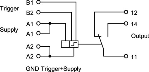 3 phase current monitoring relay wiring diagram relay
