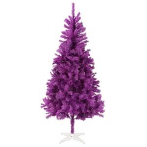 homegear 6ft purple artificial christmas tree the sports hq