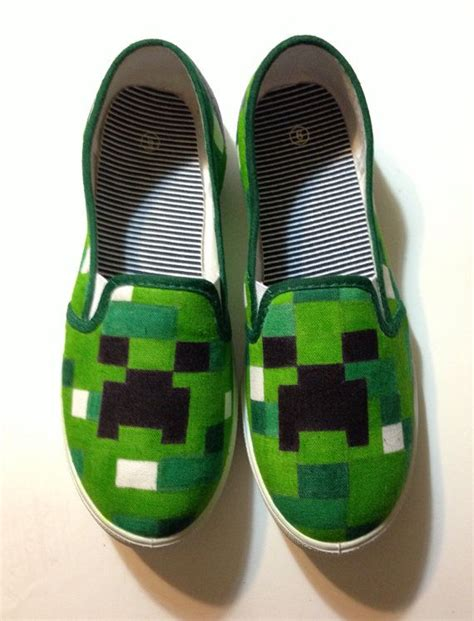 diy creeper shoes 55 best minecraft images on minecraft