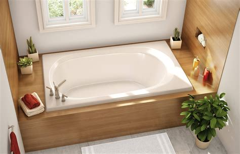 drop in bathtub with shower 20 bathrooms with beautiful drop in tub designs