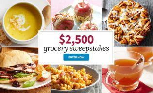 Eating Well Sweepstakes - eatingwell com grocerysweeps sweepstakes pit