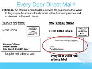 direct mail to every door low cost local and in living color