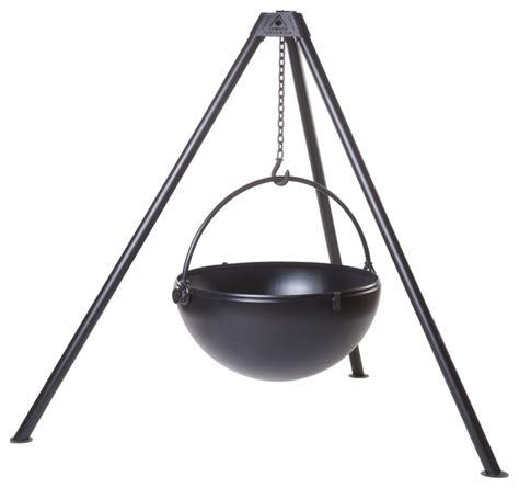 cast iron pit cauldron the wrangler cast iron pit with tripod by cowboy