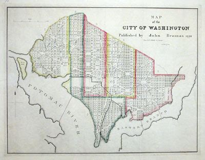 washington dc map tie common place national domesticity in the early republic