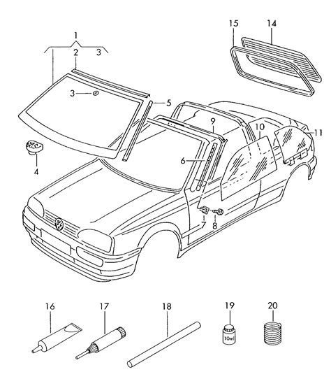 Volkswagen Cabriolet Parts by Vw Cabrio Parts Search Engine At Search