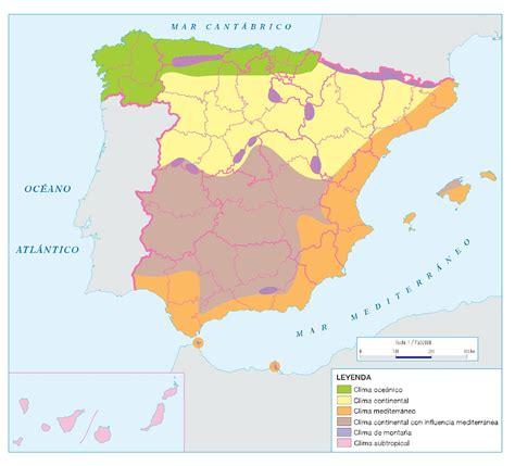 zonas climaticas de espana las vidapiratalamejor zonas clim 193 ticas en espa 209 a