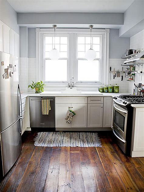 wood kitchen cabinets with wood floors white kitchen cabinets subway tile stainless steel