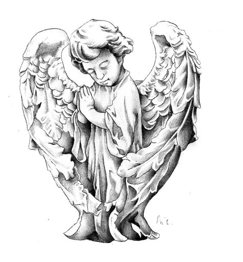 cherub tattoo designs design by riccardobacci on deviantart