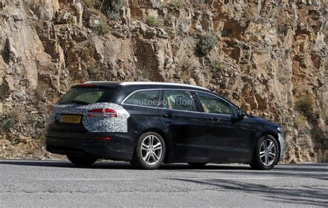2019 Ford Mondeo by Spyshots 2019 Ford Mondeo Facelift Testing In