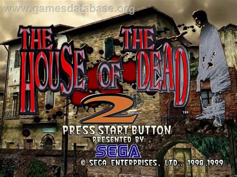 house of the dead 2 house of the dead 2 sega dreamcast games database