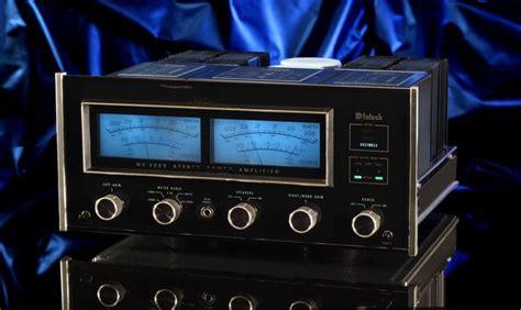mcintosh mc  vintage audiophile stereo power amplifier