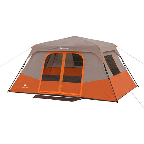 cabin tents ozark trail instant 13 x 9 cabin cing tent sleeps 8