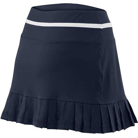 wilson specialist 12 5 pleated s tennis skirt midnavy