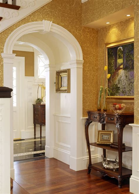 warm welcoming victorian entry hall interiors