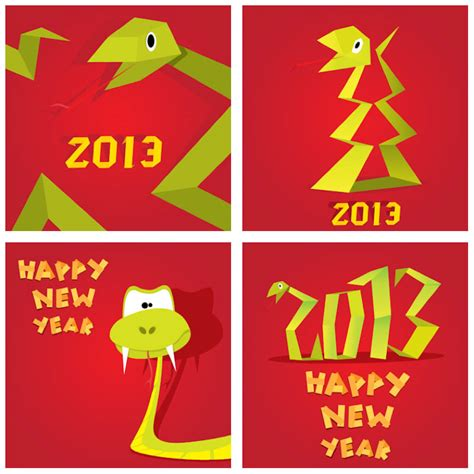 new year snake pictures snake 2013 new year posters vector vector graphics