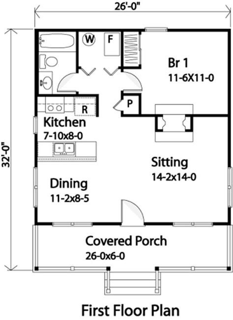 Weekend Cabin Floor Plans by Popular Cabin This Popular Country Style Cabin House Plan