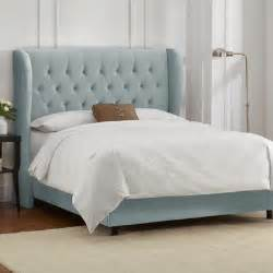 Beds With Footboards Buy Button Tufted Upholstered Headboard Size Twin Finish