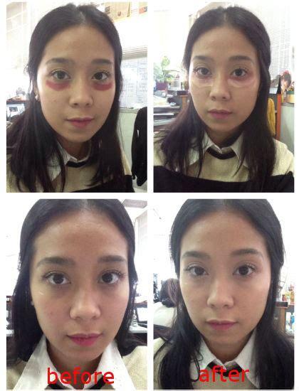 trik youthmax baru trik kecantikan baru samarkan lingkar hitam mata dengan
