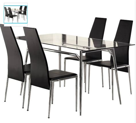 glass dining table set stunning dining table glass top
