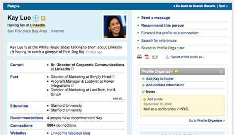 getting organized with linkedin s profile organizer official linkedin