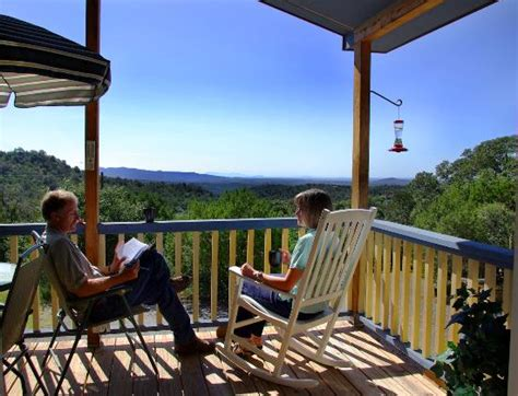 Pinos Altos Cabins by View From The Blue Cabin Deck Picture Of