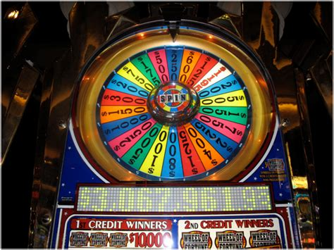 wheel  fortune slot machine real slot machines  sale