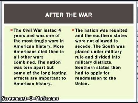 Cause And Effect Of Civil War Essay by Cause And Effect Essay On The Civil War Coursework