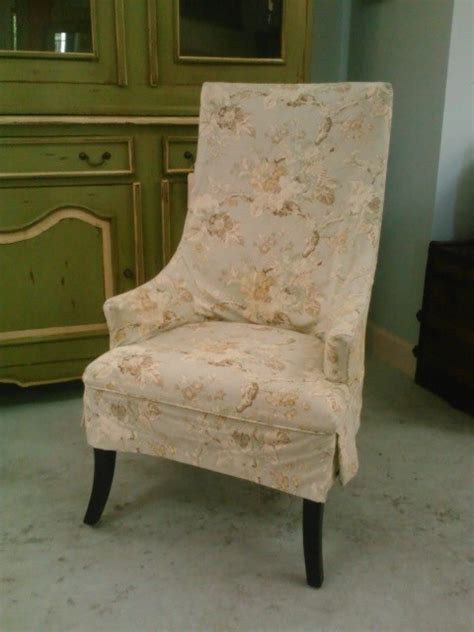 host chair with shabby chic floral slipcover traditional dining chairs other metro by