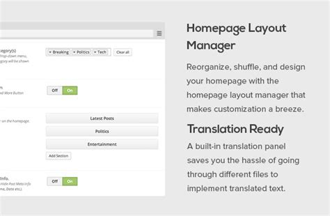 wordpress homepage layout manager newstimes premium wordpress news theme mythemeshop