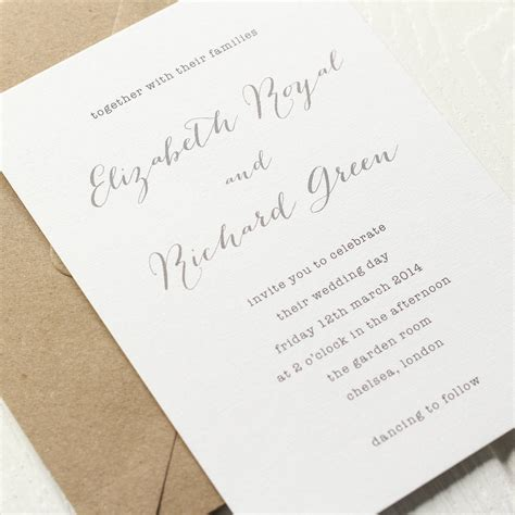steunk rubber sts typewriter font wedding invitation wedding invitation ideas