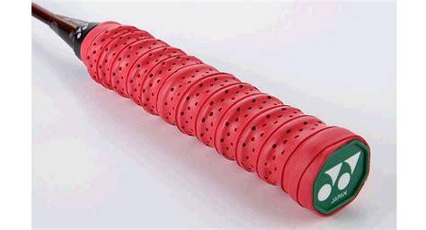 Yonex Grip Karet Badminton 1 87 authentic yonex pu leather badminton racket grip non slip sweat absorption at