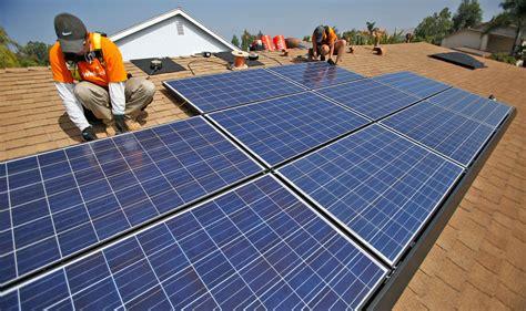Solar Panels Mandatory On All New Homes - california to require solar panels on most new homes