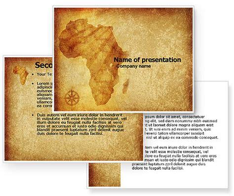 africa powerpoint template poweredtemplate com 3