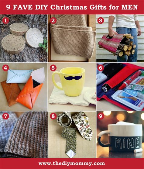 a handmade christmas diy gifts for men the diy mommy