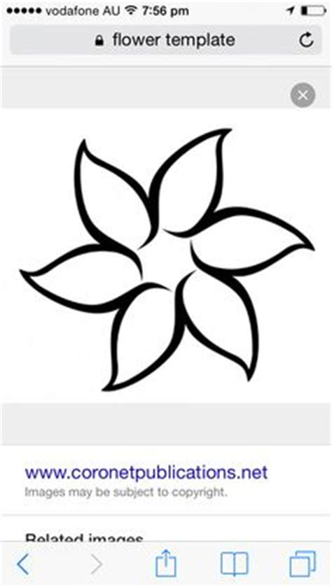 flower pattern synonym free synonym flower template i could use this for