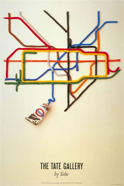 poster design jobs london tate by tube poster by david booth
