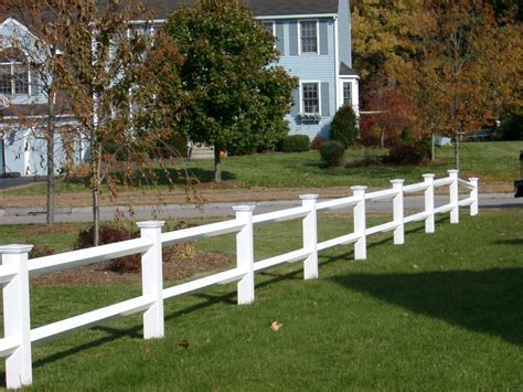 four rail vinyl fence farm and ranch style vinyl fences tennessee valley fence