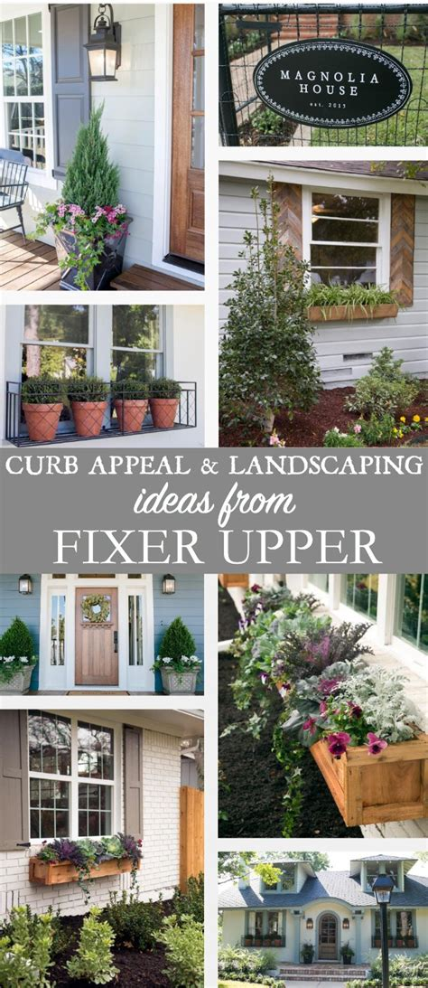 fixer upper designs curb appeal and landscaping ideas from fixer upper