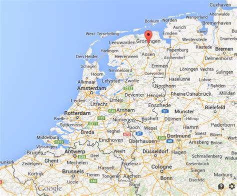 netherlands map groningen where is groningen map netherlands world easy guides