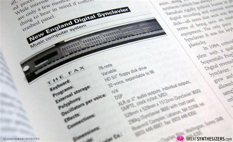 Rechnung Getragen Englisch Buchempfehlung Keyfax Omnibus Edition Greatsynthesizers