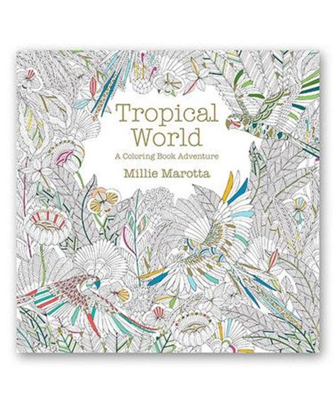 mandala coloring book hobby lobby 92 best images about tropical world millie marotta