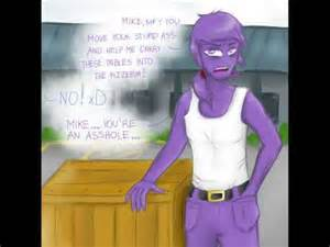 Fnaf vincent purple guy sexy naughty bitchy me youtube