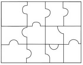 Puzzle Template by Puzzle Templates Clipart Best
