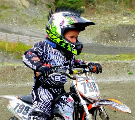 kids motocross racing 4 yr old kid motocross ktm norway fox dirtbike isaac