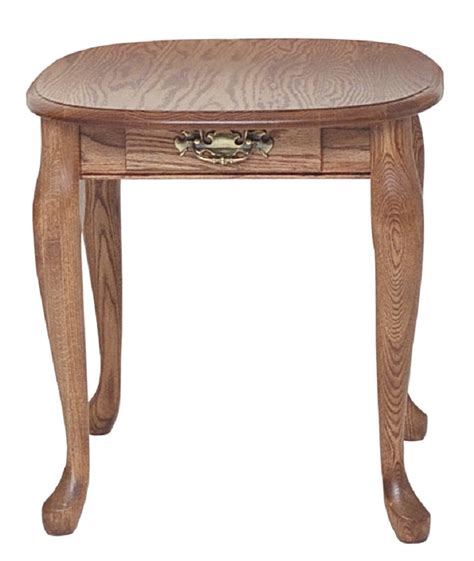 oak end table solid oak end table with drawer 21 quot x 25