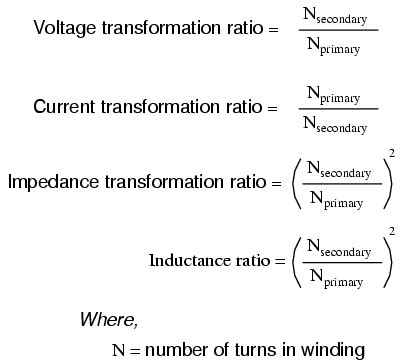 formula for inductance of transformer special transformers and applications transformers electronics textbook